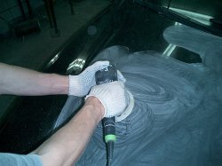 Полирование кузова автомобиля