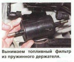 Фильтр топливный дэу матиз