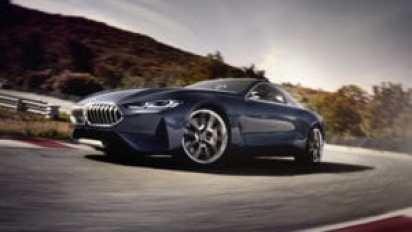 BMW возвращение роскошного купе 8 серии