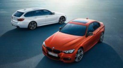BMW 3 серии – три новые модели Edition