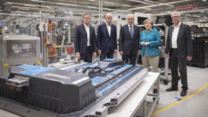 Mercedes инвестирует 500 миллионов евро в завод по производству батарей для электромобилей