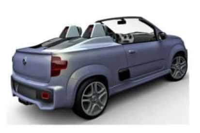 Новый Fiat Uno Roadster