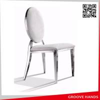 Round Design Luxury Stainless Chair