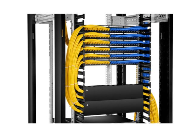 Rack Mount Patch Panel Cabling