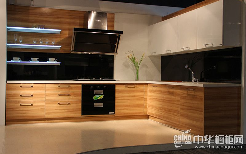 rustic kitchen cabinet extra large stainless steel sinks 大诚厨柜效果图 现代风格整体厨柜图片_中华橱柜网
