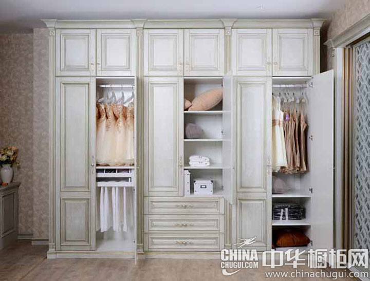 kitchen cabinet brands pulls for cabinets 欧式风格整体衣柜图片 美观实用两者兼备_中华橱柜网