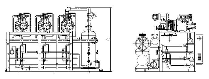 Water Cooled Two Stage Screw Condensing Unit Manufacturers