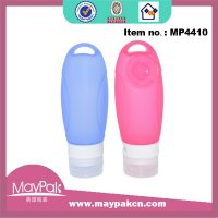 cute silicone baby bottle for lotion and cream-Maypak