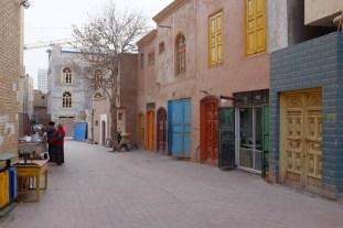 Altstadt Türen Kashgar