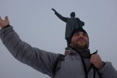 Lenin Statue in Osh