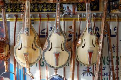 Uyghurische Geigen Kashgar Xinjiang