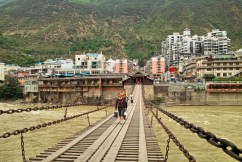 Die Brücke von Luding - wichtig zur Zeit des Langen Marschs