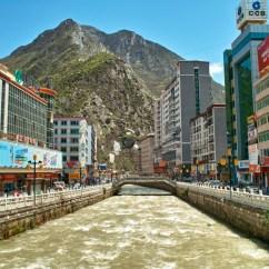 Stadtzentrum von Kangding