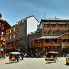 Marktplatz in Songpan