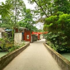 Grüne Vororte vor Chengdu