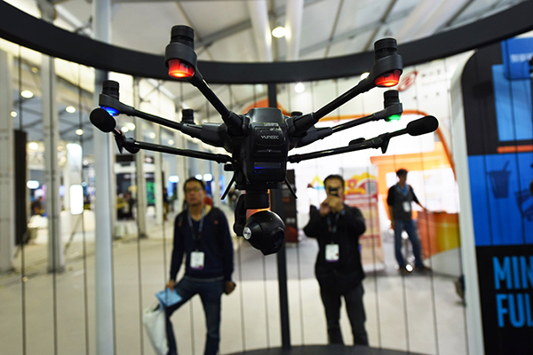 Drone makers reach for the sky
