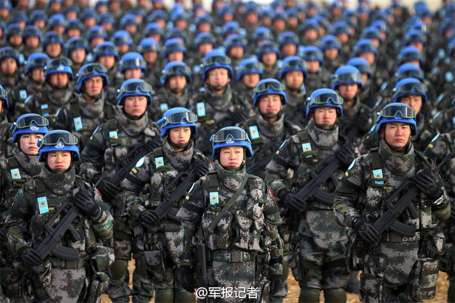 China to send first infantry battalion for UN peacekeeping