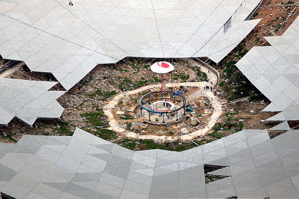 Massive telescope's 30-ton 'retina' undergoes final test