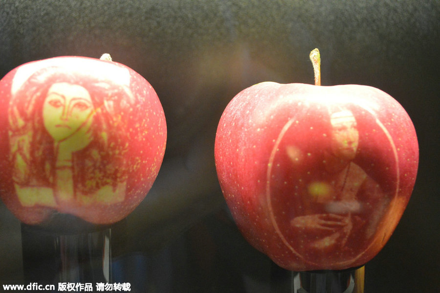 french apple art wows