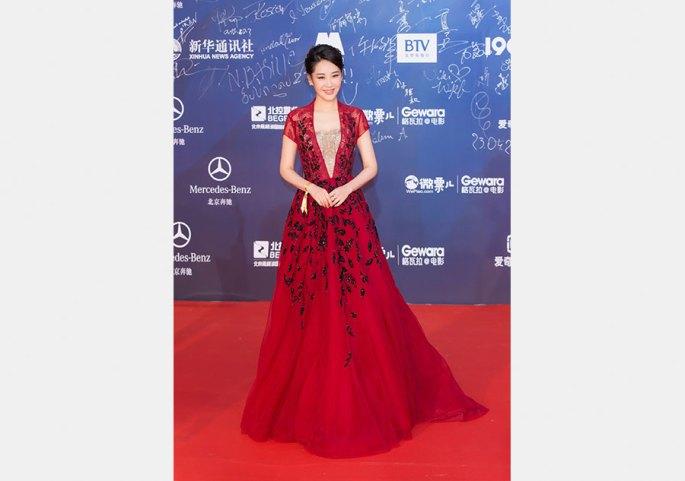 Star gazing: Who wore what at Beijing International Film Festival