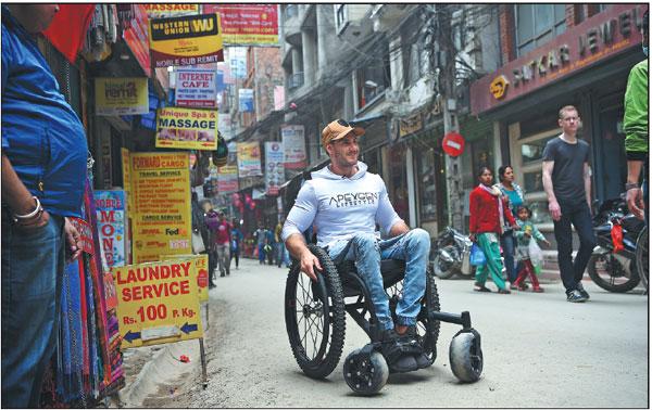 scott doolan pictured in kathmandu nepal on thursday will attempt to climb qomolangma the world