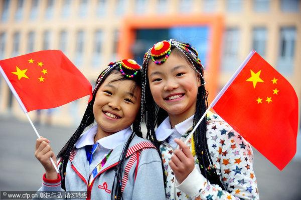 Celebrating China's 62nd birthday