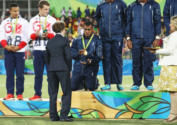Touching stories behind the first Olympics gold medals at Rio