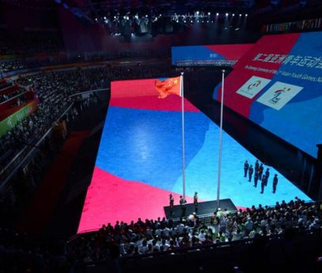 Nd Asian Youth Games Kicks Off In Nanjing
