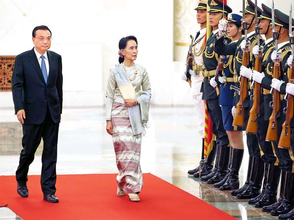 China, Myanmar to enhance trust