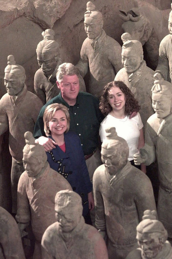 US presidents and first ladies who have visited China