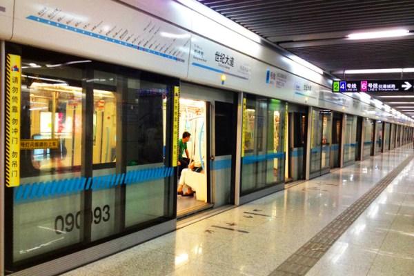Shanghai Metro Shanghai Subway Map Lines Stations