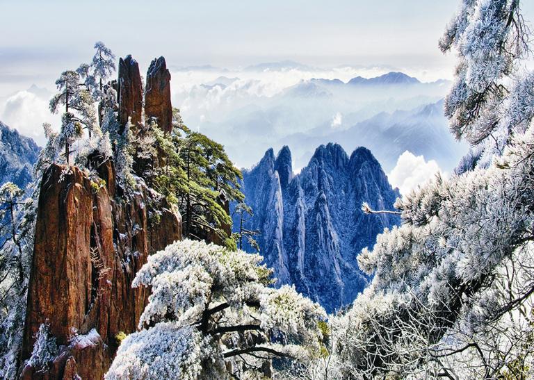 Yellow Mountain Winter