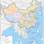 China Administrative Map Administrative Division Of China