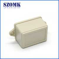 plastic enclosure for electronics slot wall mounting boxes