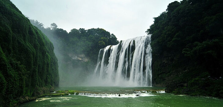 Falling Into Water Wallpaper Day Tour Huangguoshu Waterfall And Dragon Palace China