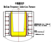The application of Induction furnace