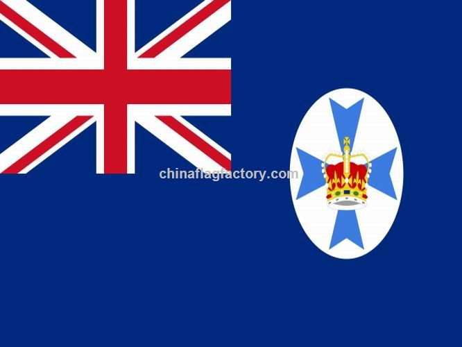 Promotional Queensland Flag suppliers  China wholesale