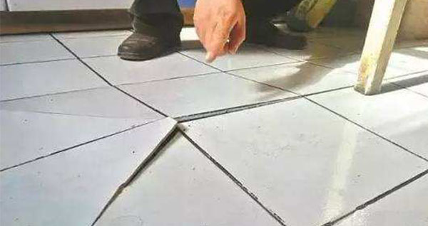 5 reasons for cracked floor and wall