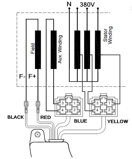 3 Phase Generator Wiring Diagram : 32 Wiring Diagram