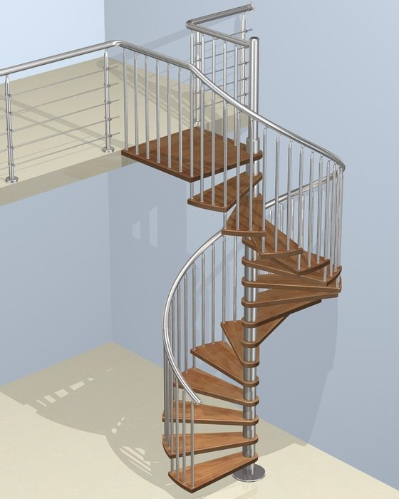 Steel Wood Spiral Staircase Wood Spiral Staircase Demax Arch   Steel Stairs For Sale   Aluminum   Pylex   Cantilever   Residential   Used