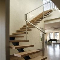 L Shaped Staircase Quarter Turn Staircase | Demax Arch