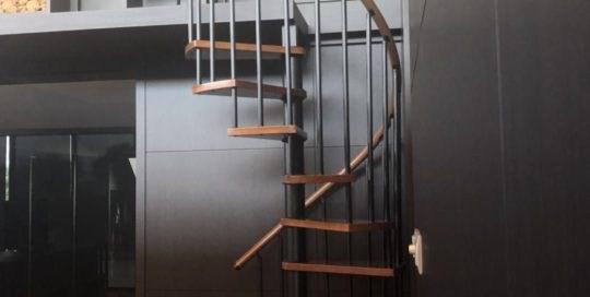 Spiral Staircase Design Demax Arch   Space Saving Spiral Staircase   Child Friendly   Do It Yourself Diy   Metal   Duplex House   Loft