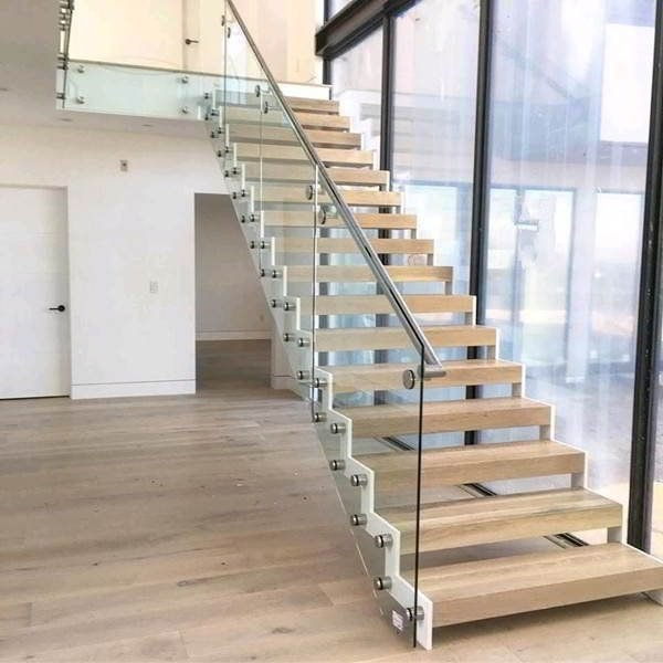 Zig Zag Staircases Demax Arch   Glass Railing For Stairs Price   Railing Systems   Cable Railing   Alibaba   China   Wood