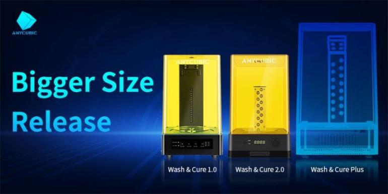 Anycubic Wash & Cure Plus DLP 3D printing made easy