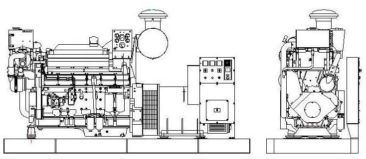 Volvo series marine generator,Volvo series marine