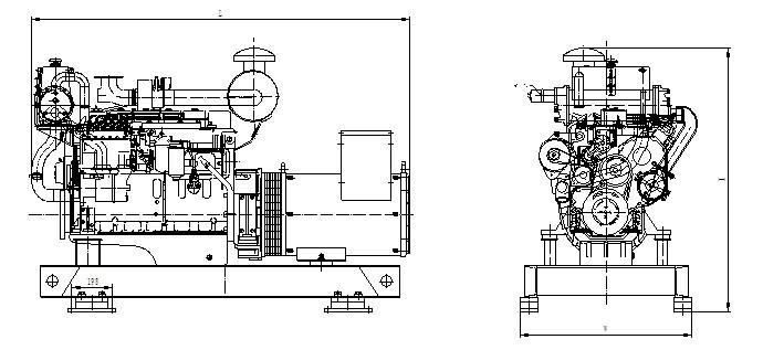 90kw marine diesel generator,90kw marine diesel generator