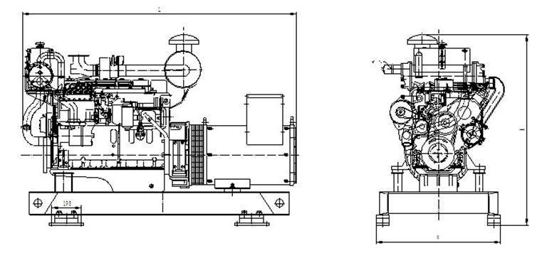 30kw marine diesel generator,30kw marine diesel generator