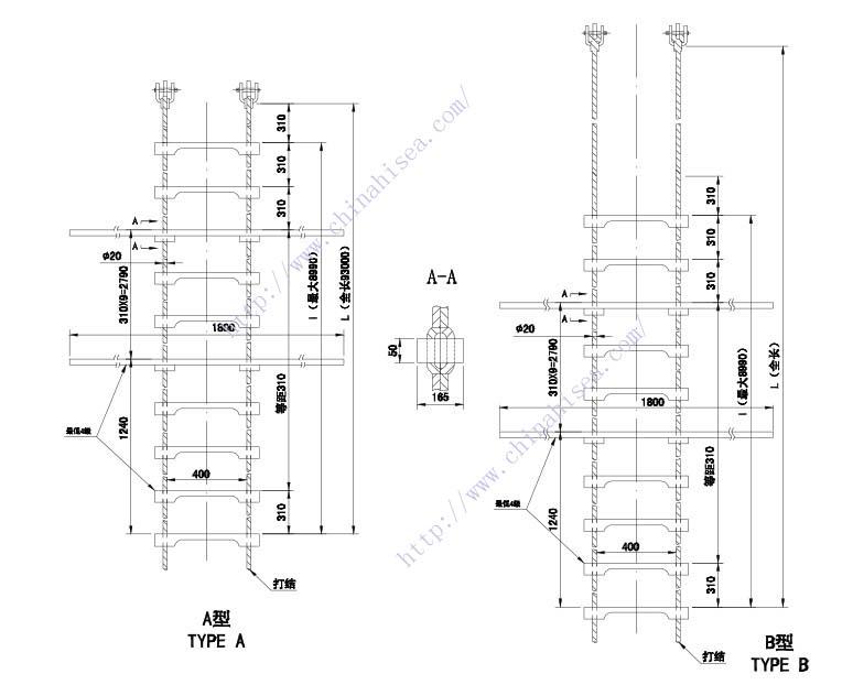 Durable Wooden Pilot Ladder,Durable Wooden Pilot Ladder