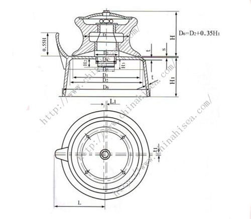 DIN81907 Cleat Fairlead,DIN81907 Cleat Fairlead