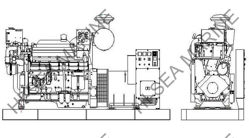 MWM marine diesel generator set,MWM marine diesel